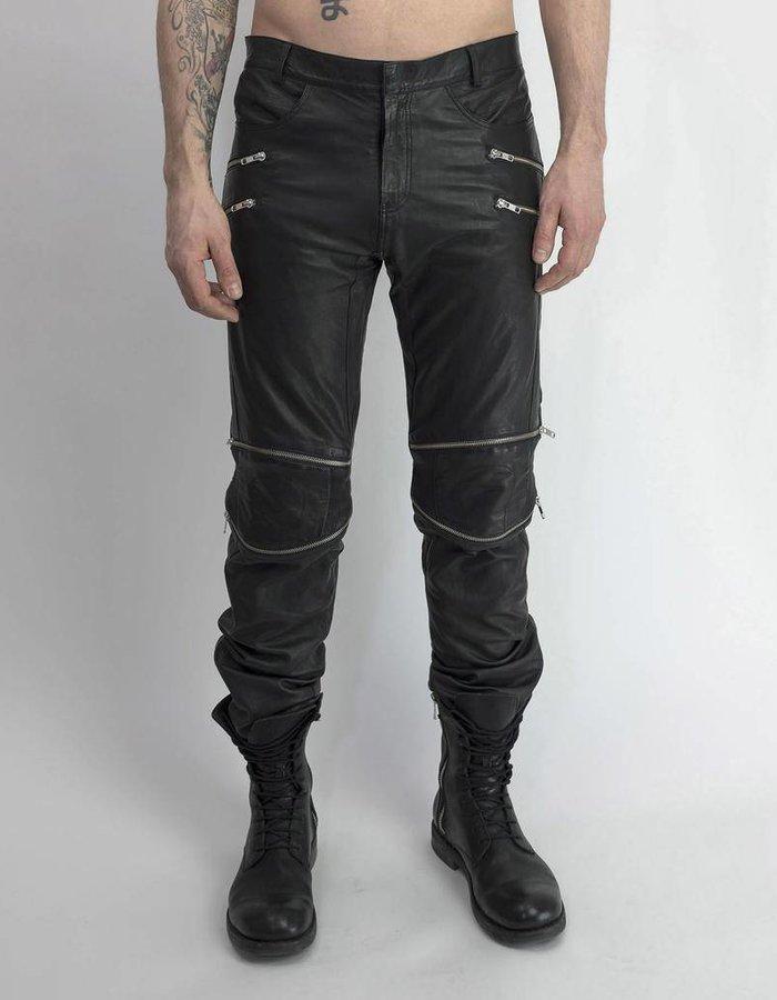 SKINGRAFT LEATHER MOTOCROSS PANTS