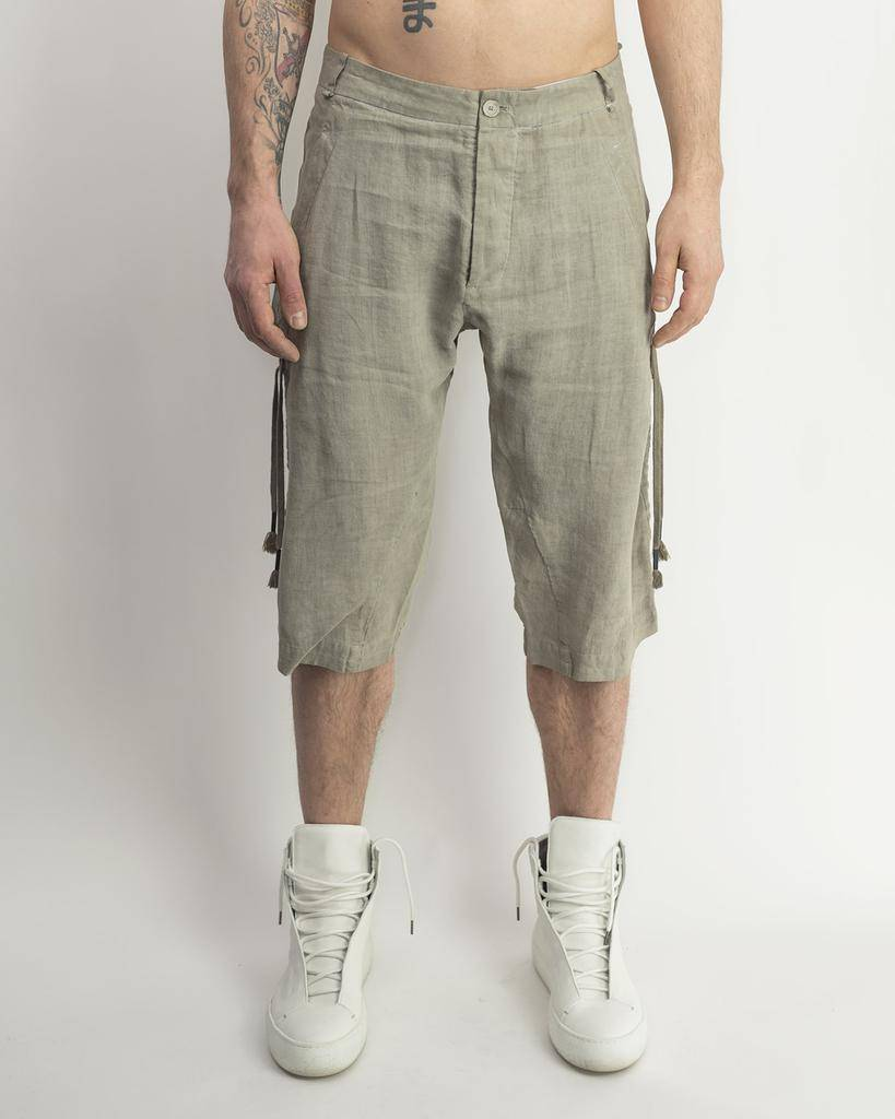RETRACTABLE SHORT - ASH