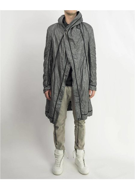 MASNADA INSIDE OUT PARACHUTE PARKA - STORM GREY