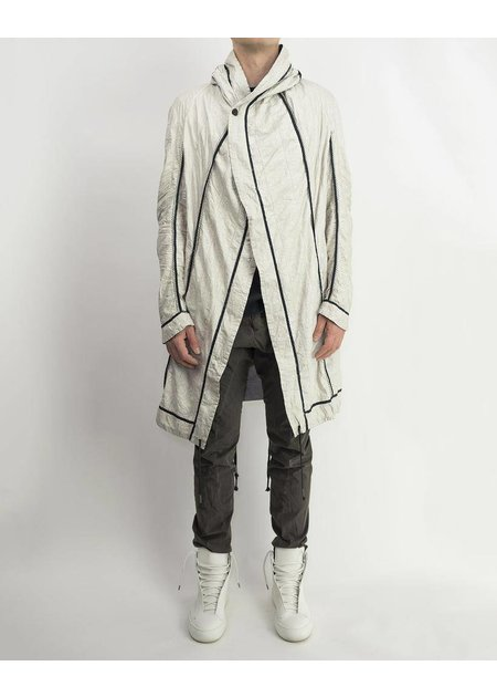 MASNADA INSIDE OUT PARACHUTE PARKA - ASH