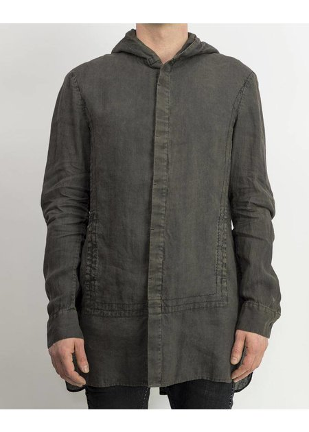 MASNADA HOODED QUAD SHIRT - DITCH
