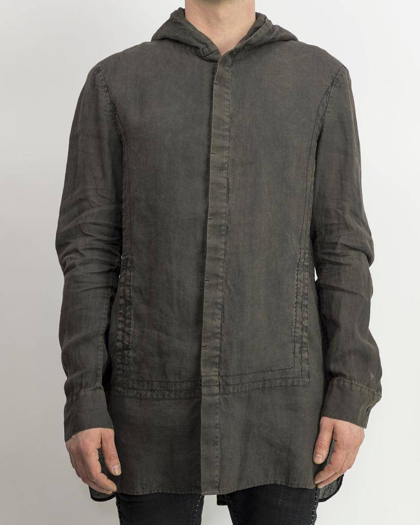 HOODED QUAD SHIRT - DITCH