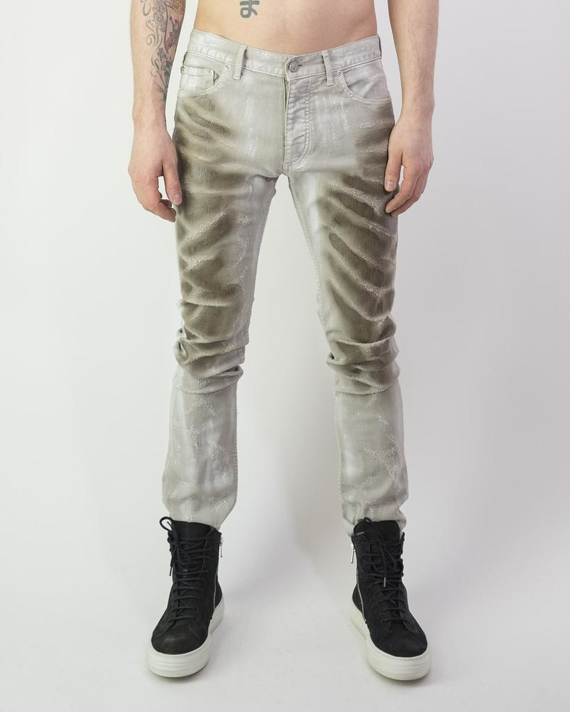 """ANDERSON"" SCALE COATED SLASH DENIM"