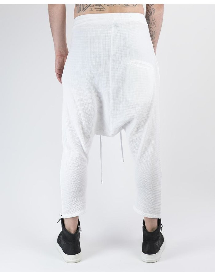 ARMY OF ME STRUCTURED CROPPED COTTON TROUSERS 43