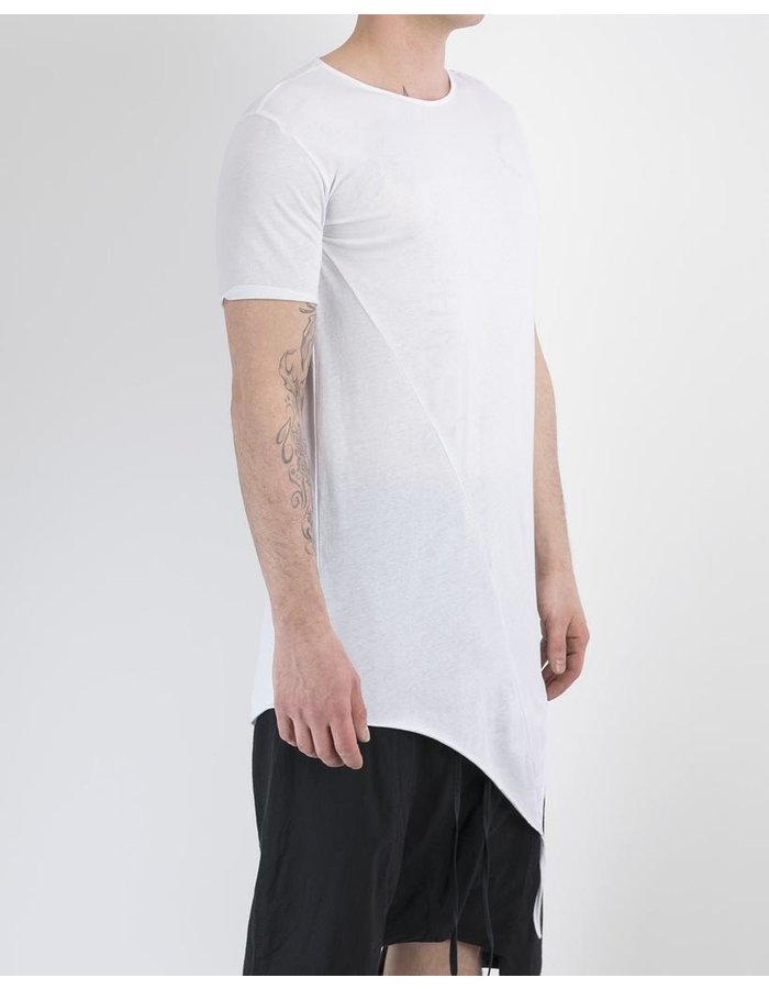 ARMY OF ME FINE COTTON ASYMMETRIC HEM T-SHIRT 32