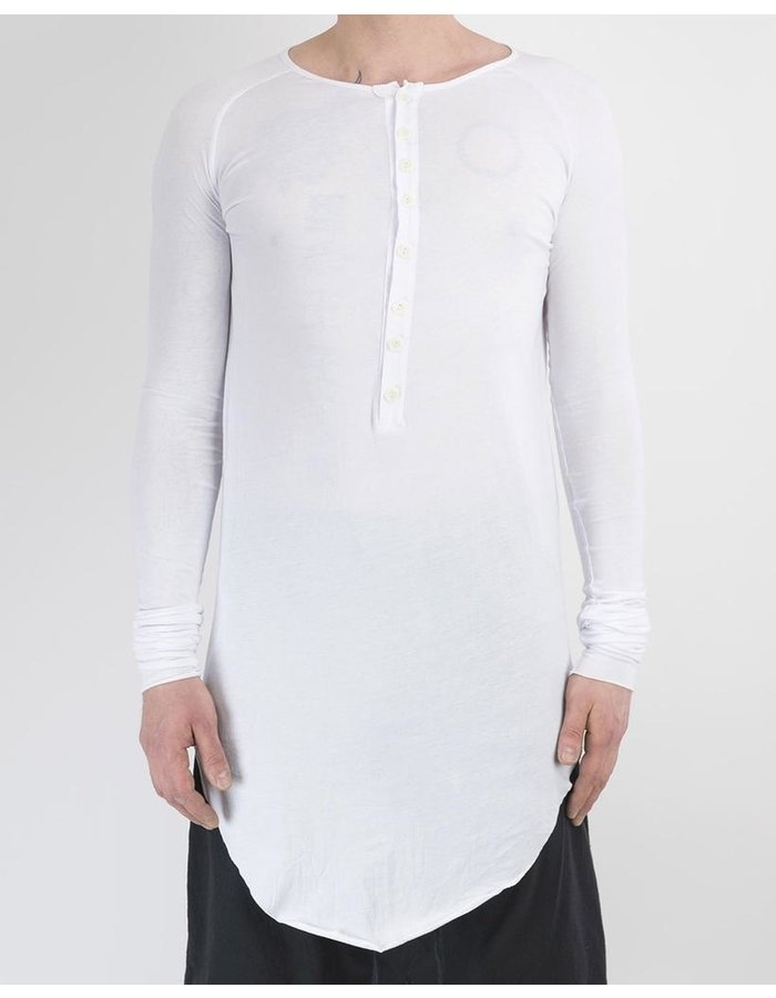 ARMY OF ME BUTTONED NECK LONG SLEEVED T-SHIRT 36