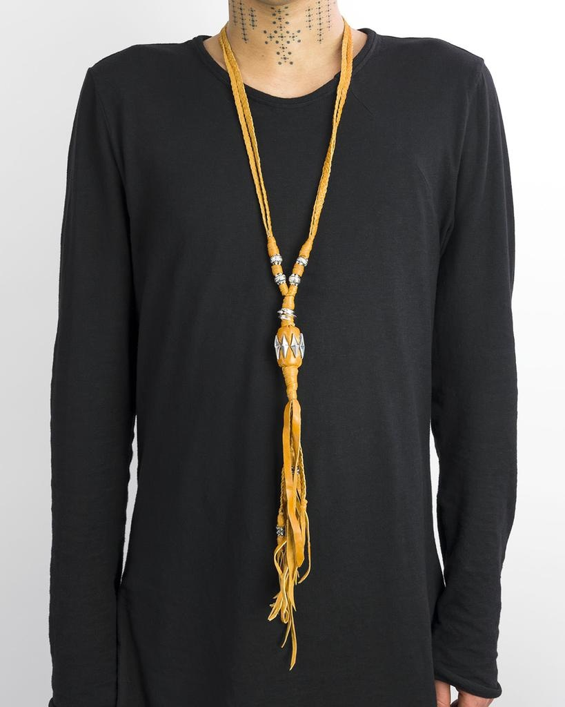 LEATHER NECKLACE SU