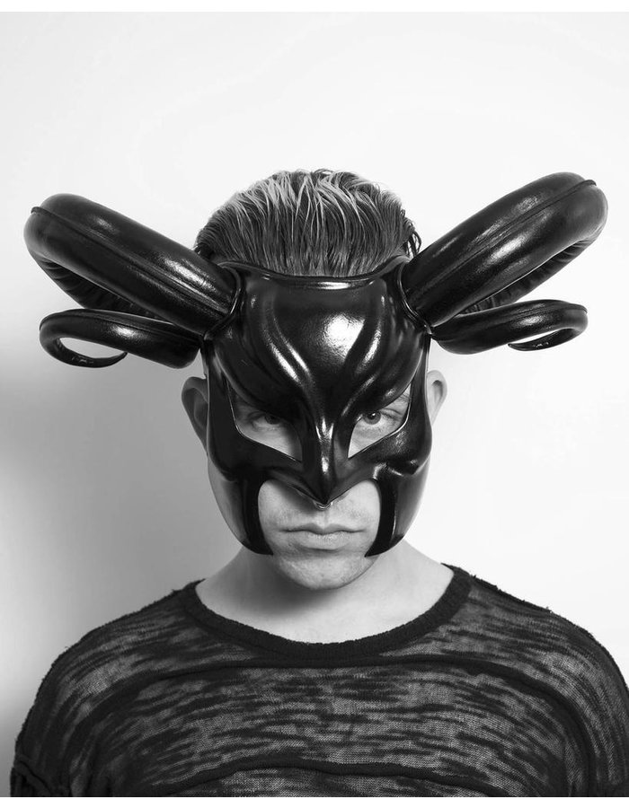 CECILIO LEATHER DESIGNS FULL FACE RAMS FACE MASK