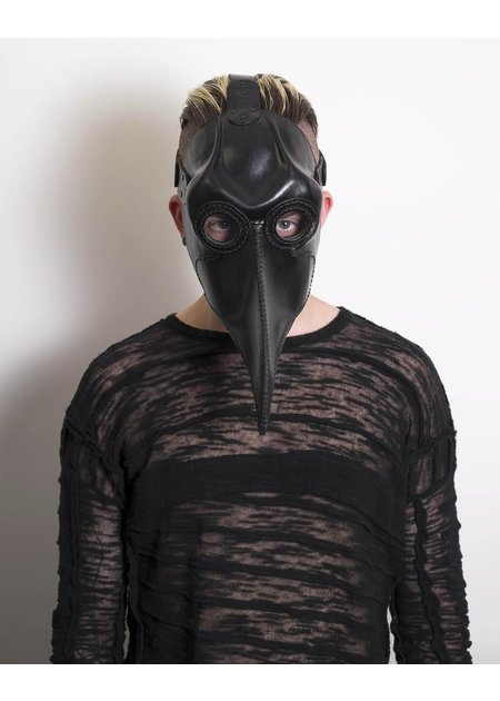 CECILIO LEATHER DESIGNS PLAGUE DOCTOR MASK