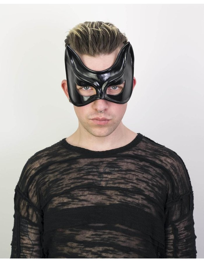 CECILIO LEATHER DESIGNS CAT MASK SIMPLE