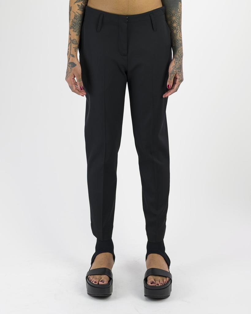 LIGHTWEIGHT WOOL PANT WITH PIPING