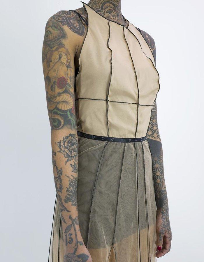 NOSTRA SANTISSIMA LONG EVENING DRESS