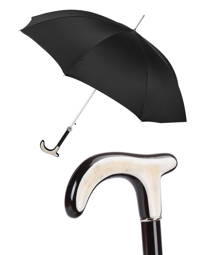 HORN HANDLE CANE UMBRELLA