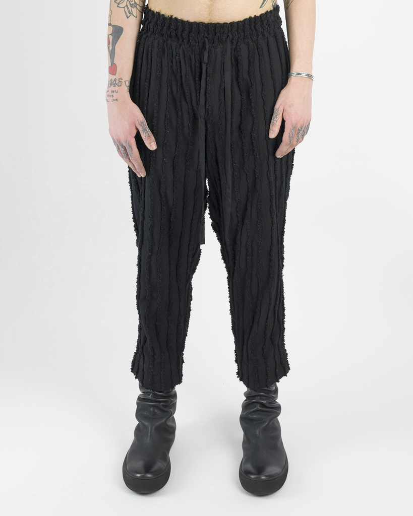 VOLUME STRIPE PANTS