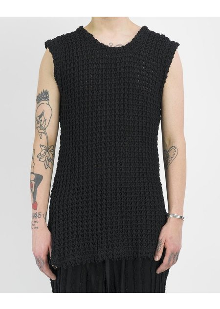 DAVID'S ROAD KNITTED SLEEVELESS TOP