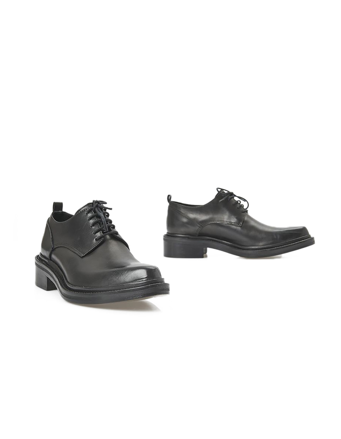 MASNADA CALFSKIN LACE-UP SHOES