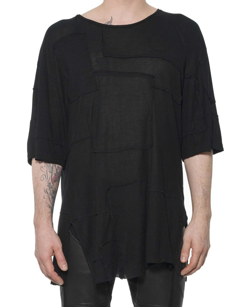 PATCHED FROCK T SHIRT