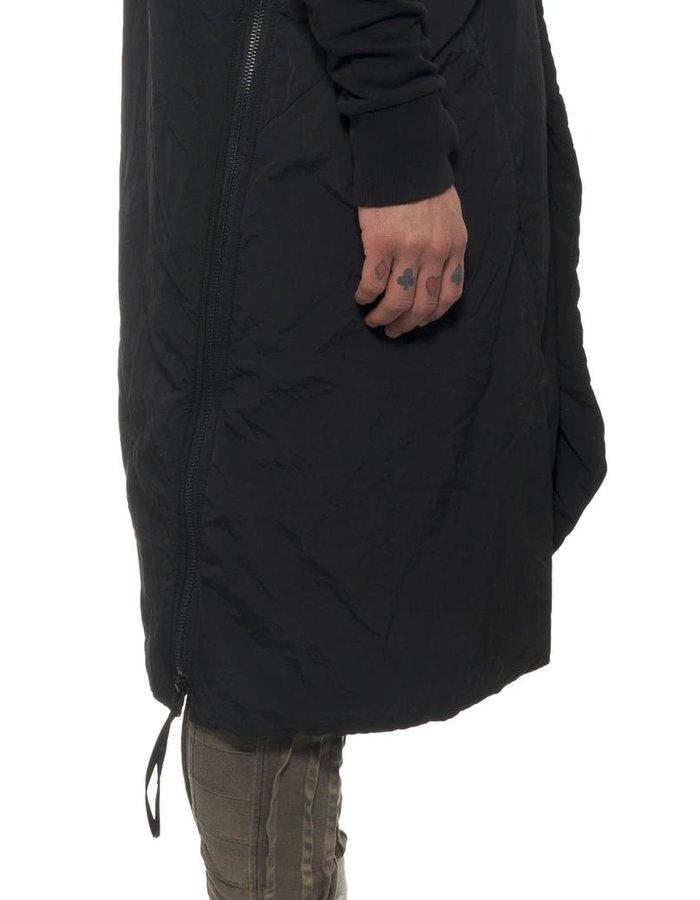 HAMCUS 2 PIECE QUILTED COAT IN BLACK