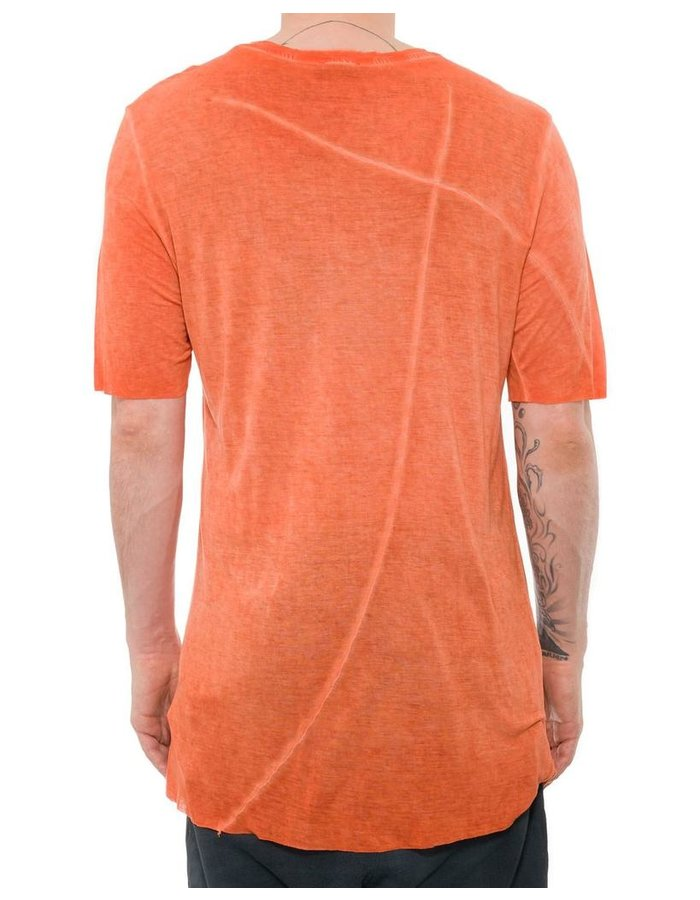THOM KROM SHORT SLEEVE T-SHIRT - ORANGE