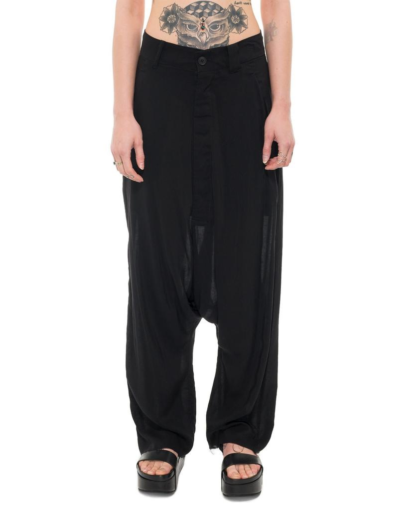 POPELINE WIDE TROUSER
