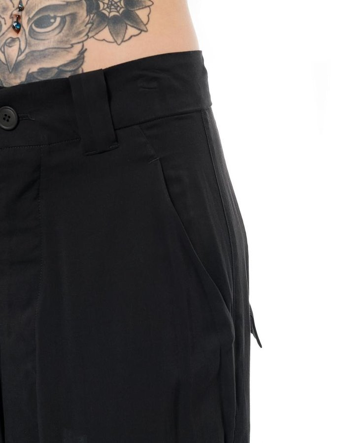 PAL OFFNER POPELINE WIDE TROUSER