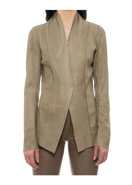 10SEI0OTTO REVERSIBLE LEATHER BLAZER