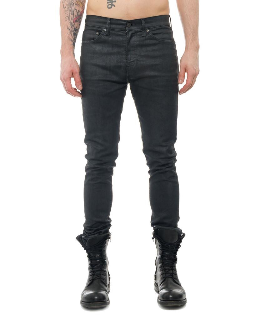 DARK SILVER STRETCH JEAN