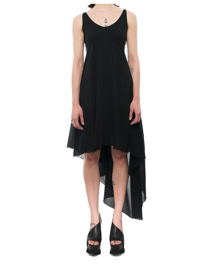 139DEC LIGHT ASYMMETRIC COTTON DRESS