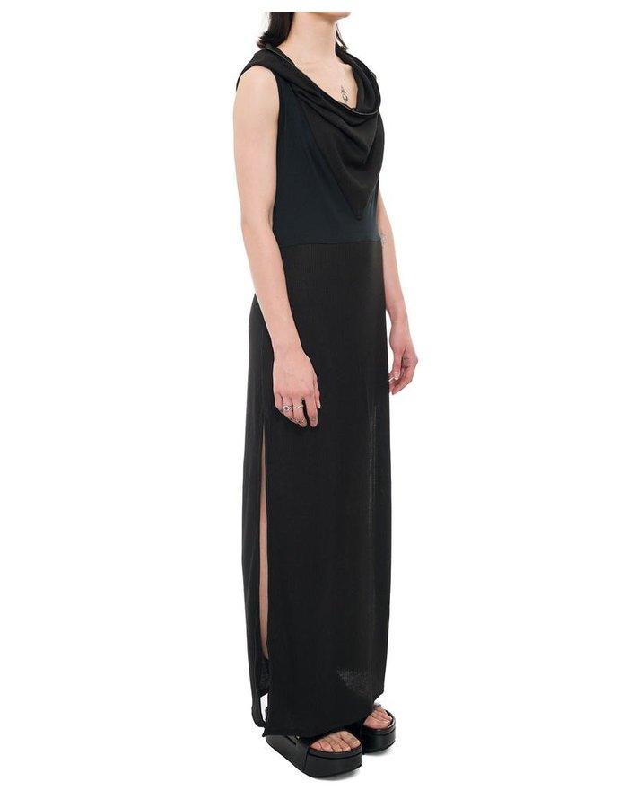 UMMOK HOODED SLIT DRESS