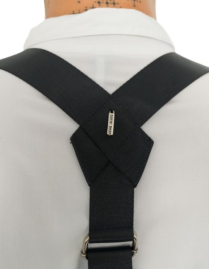 DAVID'S ROAD SUSPENDER HARNESS, FIVE BELTS