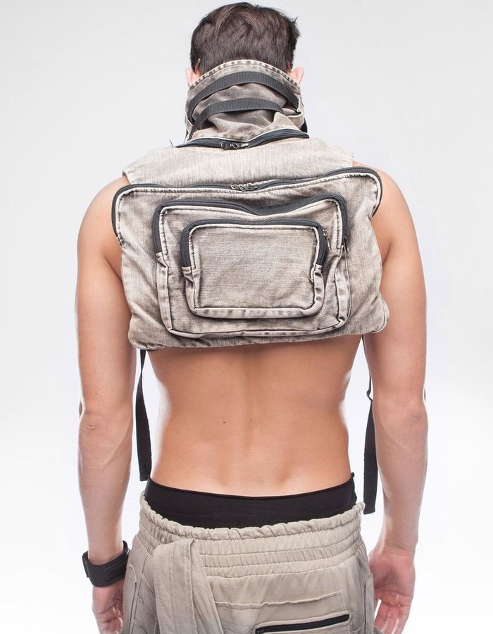 DEMOBAZA BACK PACK NECK WATTAN M