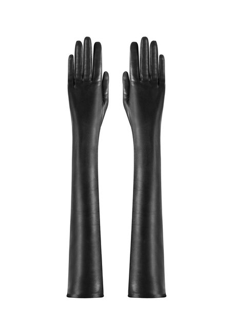 MANOKHI LAMBSKIN LONG LEATHER GLOVES
