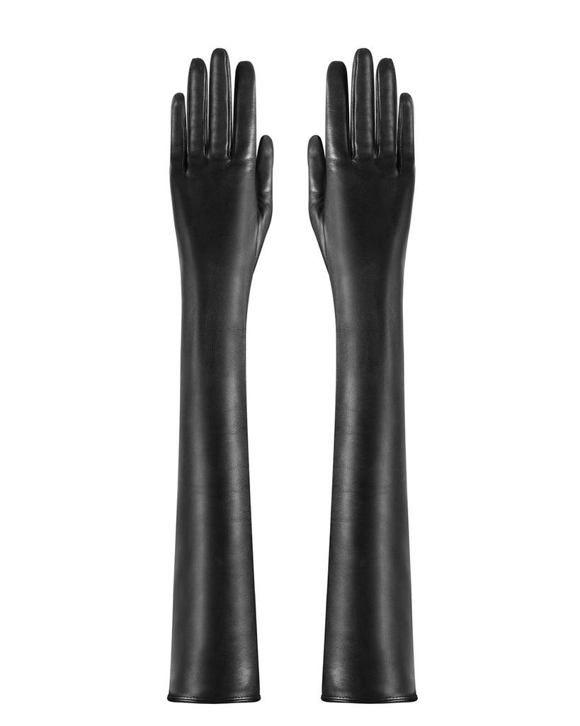 LAMBSKIN LONG LEATHER GLOVES