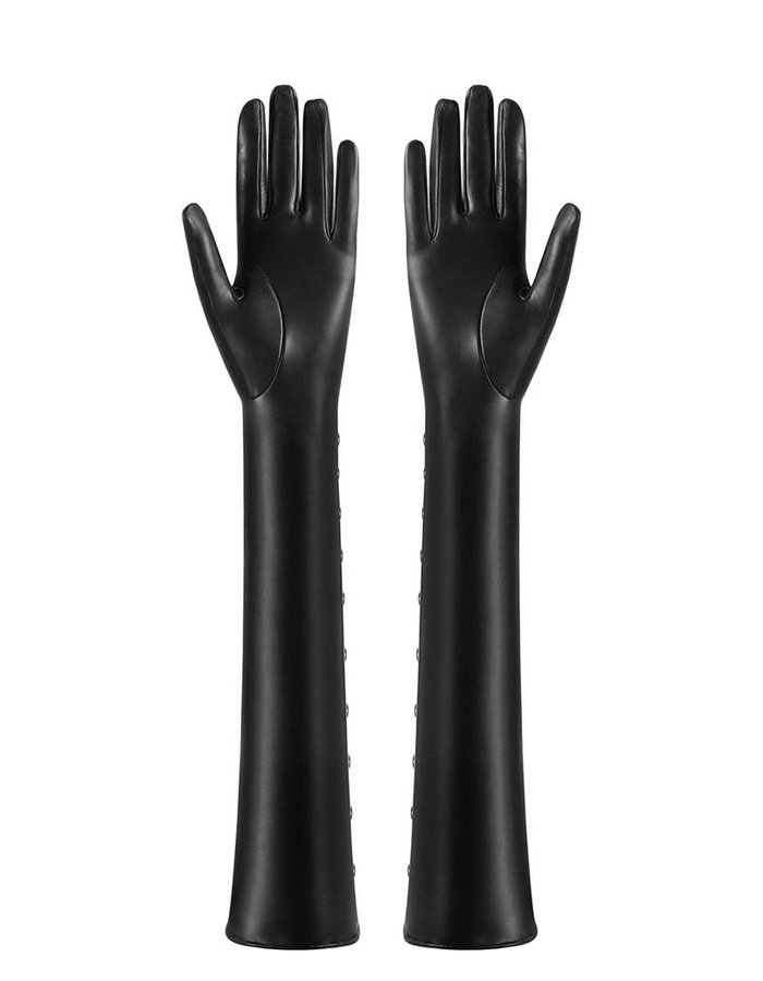 MANOKHI LONG GLOVES WITH GROMMETS