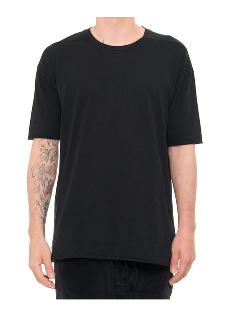 THOM KROM COTTON T-SHIRT W/ CONTRAST BACK PRINT