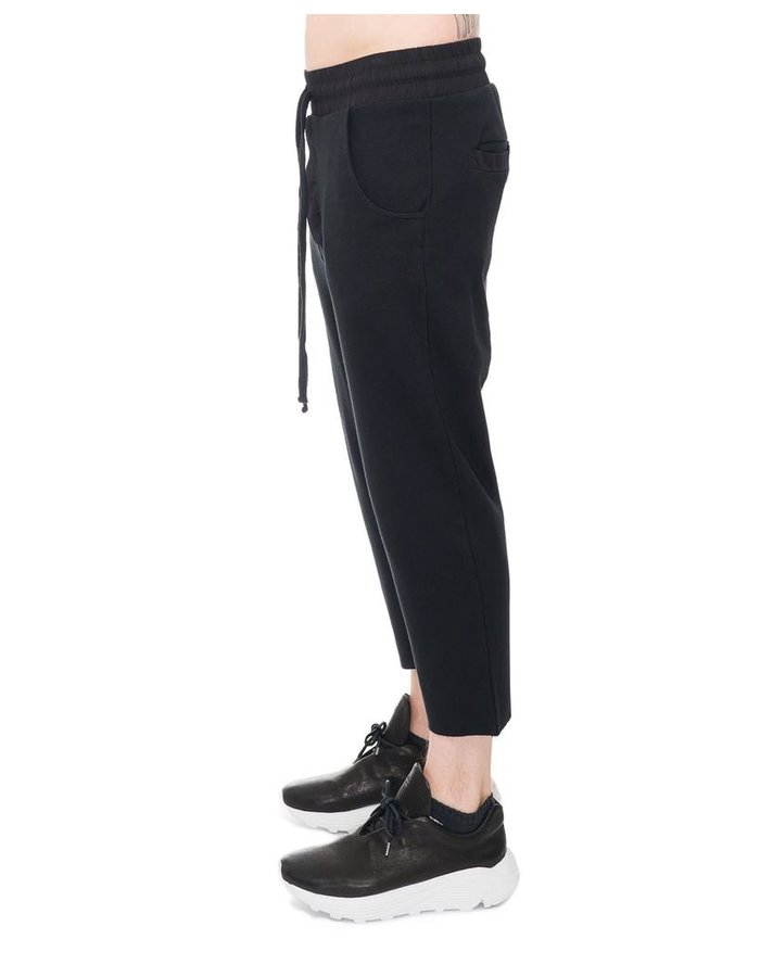 THOM KROM CROPPED COTTON TROUSERS
