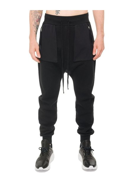 THOM KROM HEAVY GAUGE DROP CROTCH COTTON JOGGER
