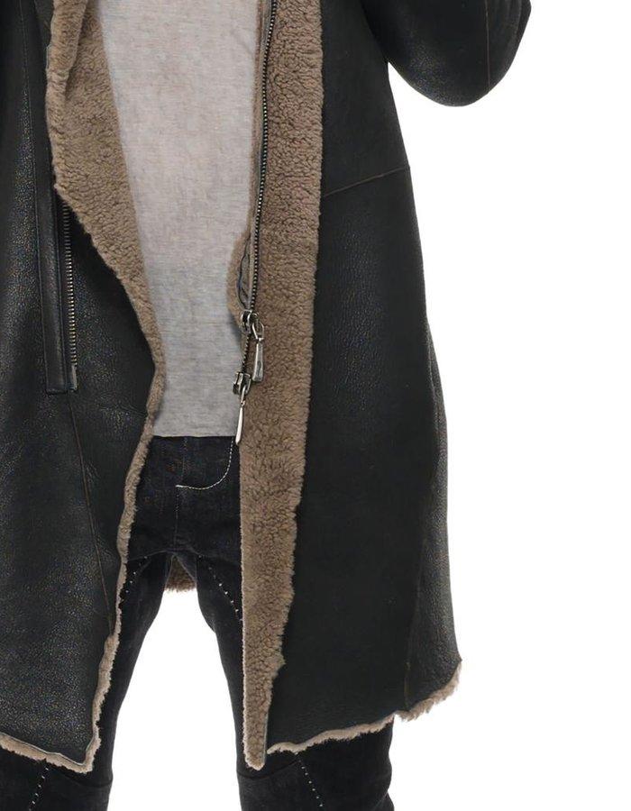 MASNADA RAW SHEEPSKIN COAT
