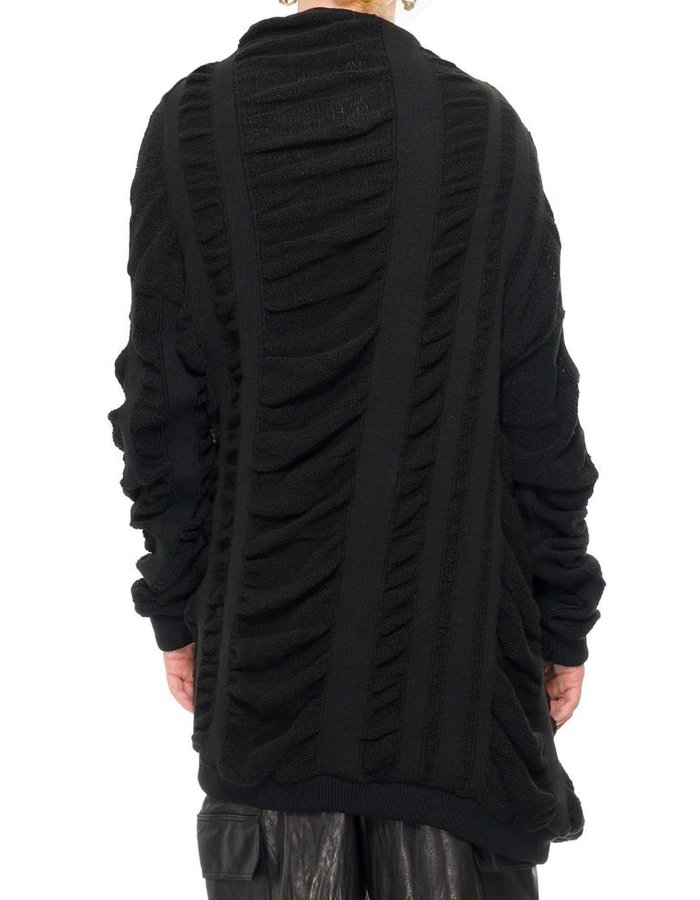 SANDRINE PHILIPPE TWISTED WOOL SWEATER