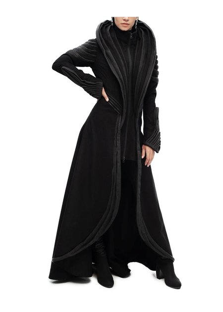 GELAREH DESIGNS SHARULA LONG COAT
