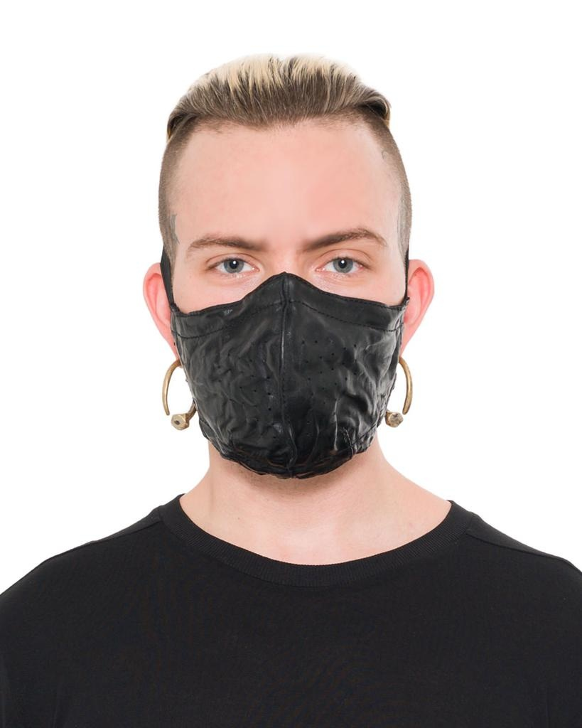 WRINKLED LEATHER DUST MASK M2