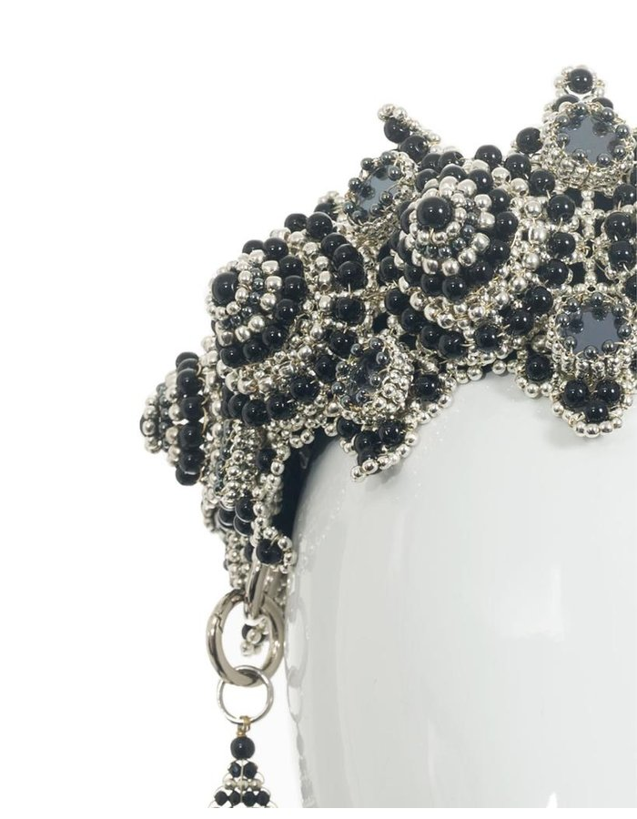 OBJECT AND DAWN EINGANA CROWN W/ ANOUK MEDALLIONS - ONYX
