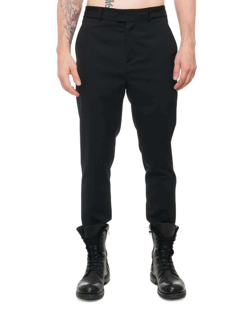 TAILORED TROUSERS WITH CONTRAST SEAMS
