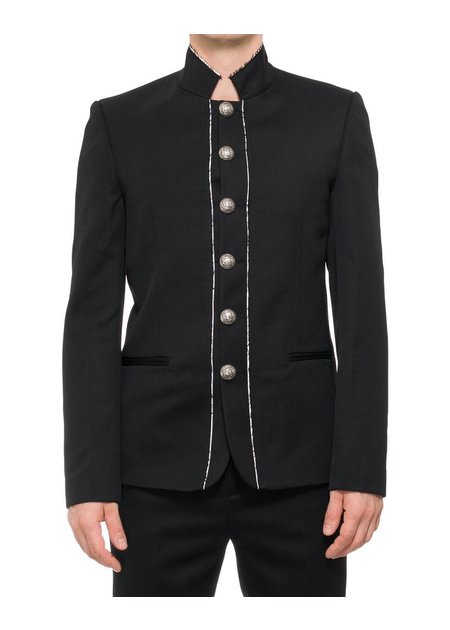 ISABEL BENENATO TAILORED MILITARY JACKET
