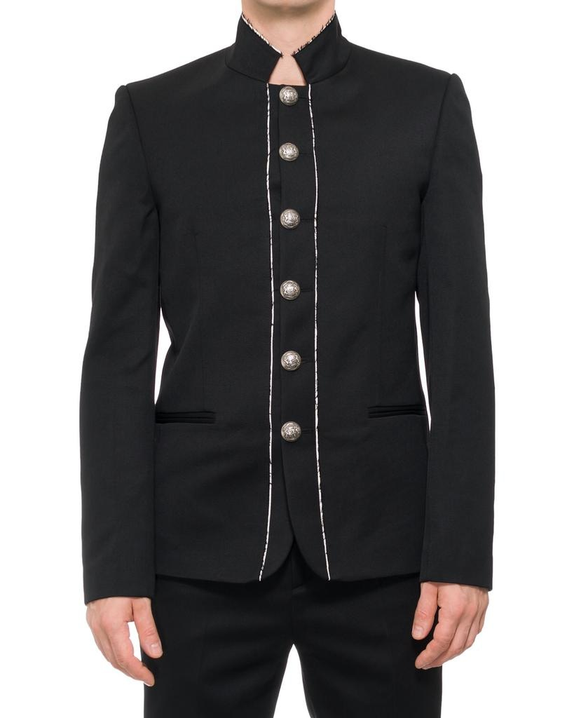 TAILORED MILITARY JACKET