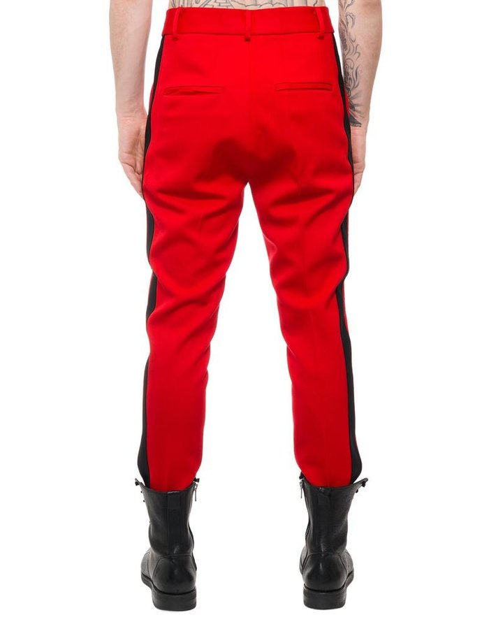 ISABEL BENENATO TAILORED MILITARY TROUSER W/ STRIPE