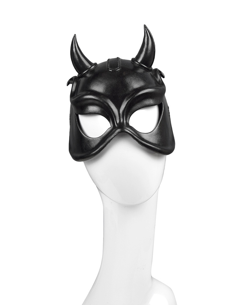 DEVIL HORNS FACE MASK