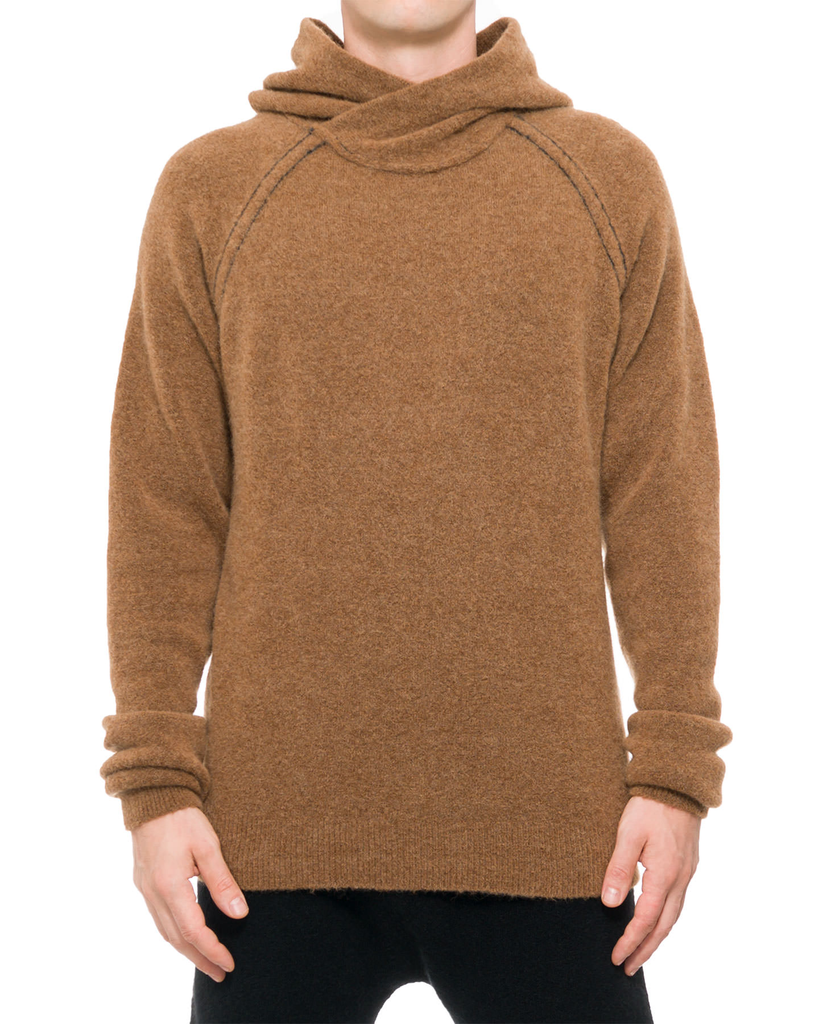 KNIT YAK PULLOVER HOODY 19