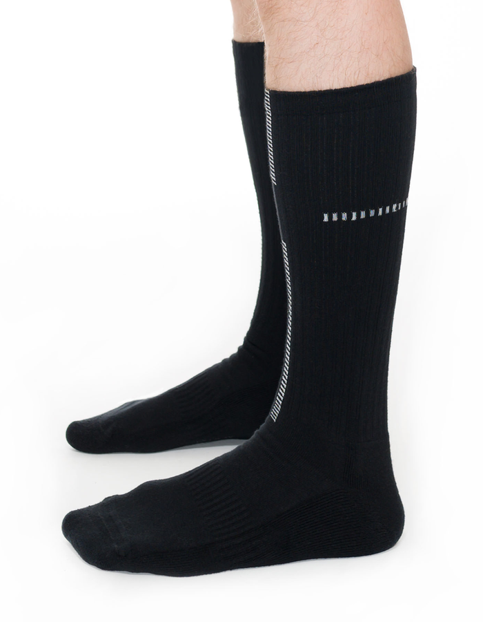 THOM KROM LONG COTTON CREW SOCKS TKFW19