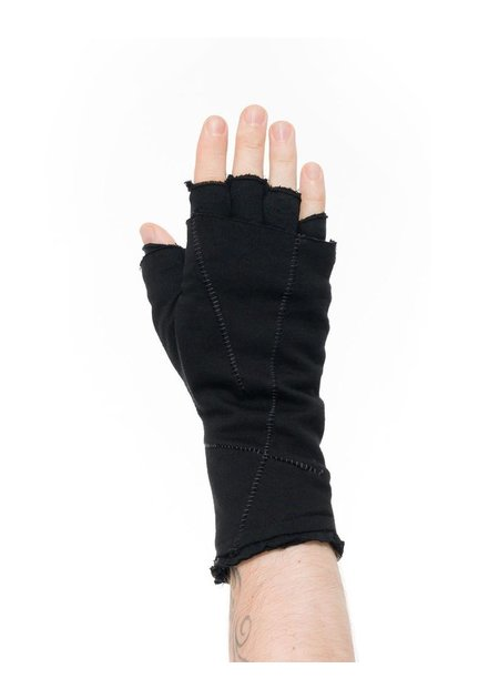 THOM KROM MULTI-LAYER FINGERLESS COTTON GLOVES